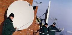 спутниковая антенна установка
