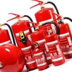 Пожарное оборудование и план эвакуации