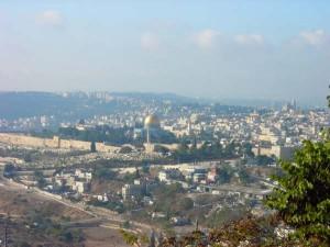 Иерусалим, вид на Храмовую гору